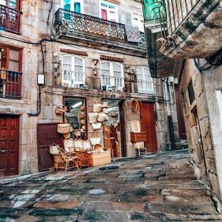 Vigo, rúa dos cesteiros
